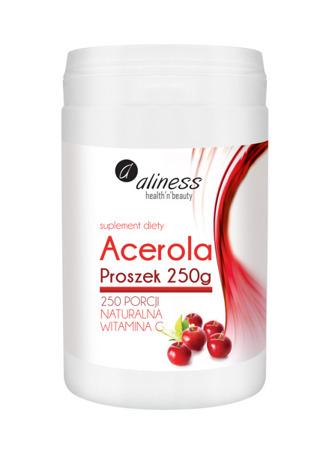 Acerola - naturalna witamina C w proszku 250g