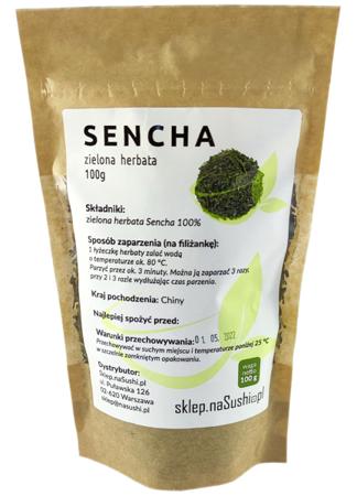 Herbata Sencha - tradycyjna zielona herbata 100g