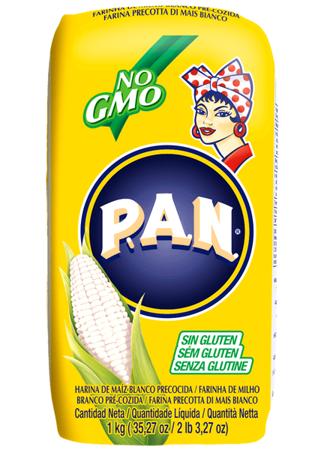 Mąka kukurydziana biała 1kg - P.A.N.