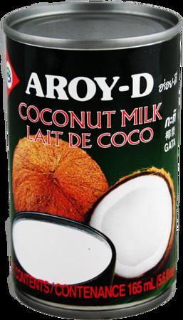 Mleko kokosowe w puszce 165ml - Aroy-D