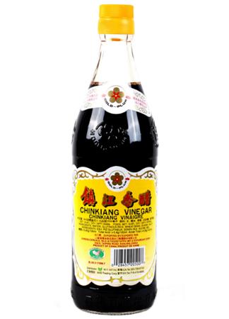 Ocet ryżowy czarny Chinkiang 550ml - Heng Shun