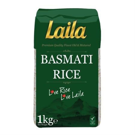 Ryż Basmati Premium Quality 1kg - Laila