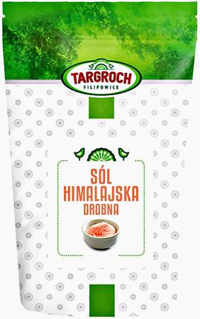Sól himalajska różowa drobna 500g - Targroch
