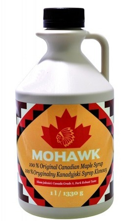 Syrop klonowy 100% naturalny 1l - Mohawk