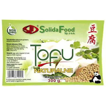 Tofu naturalne 300g - Solida Food