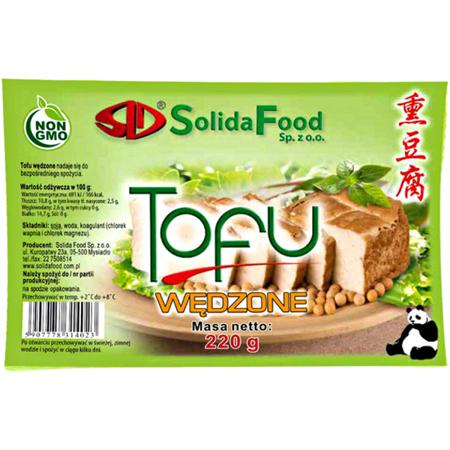 Tofu wędzone 220g - Solida Food